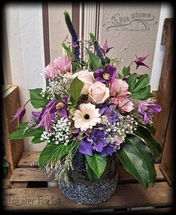 Blumenstrauß in Rosa/Lila/Pink