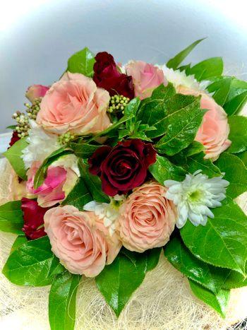 Blumenstrauß Pastellfarben