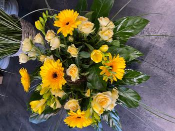 Image - Blumenstrauss rund