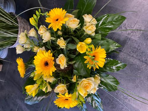 Blumenstrauss rund