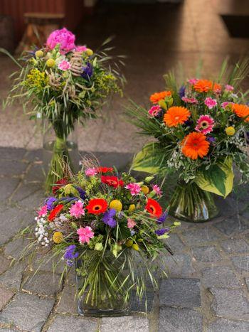 Image - Blumenstrauß rundgebunden