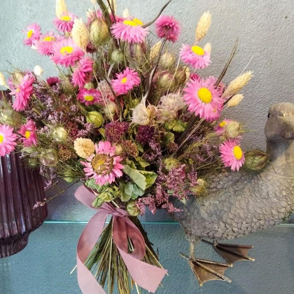Trockenblumen-Strauß - zoom
