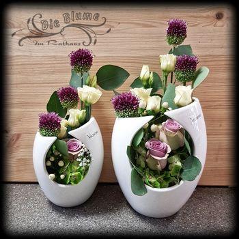 Montaro mit Blumen