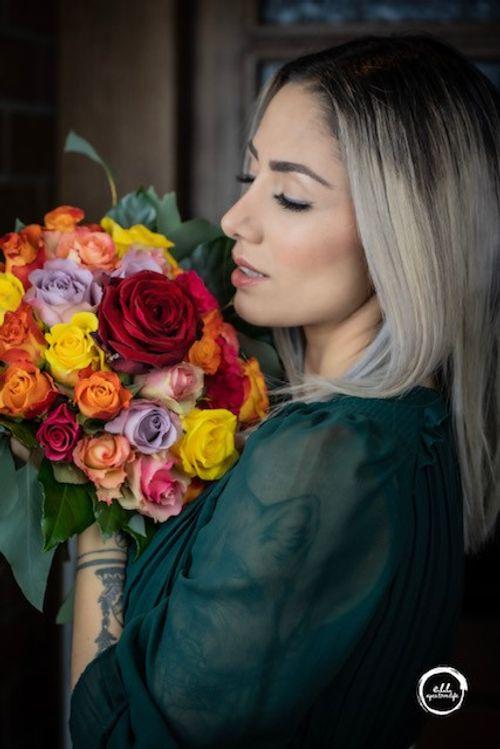 Ihr Lokaler Florist macht Ihr immer etwas Einzigartigs