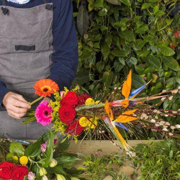 Image - Blumenstrauß Modern