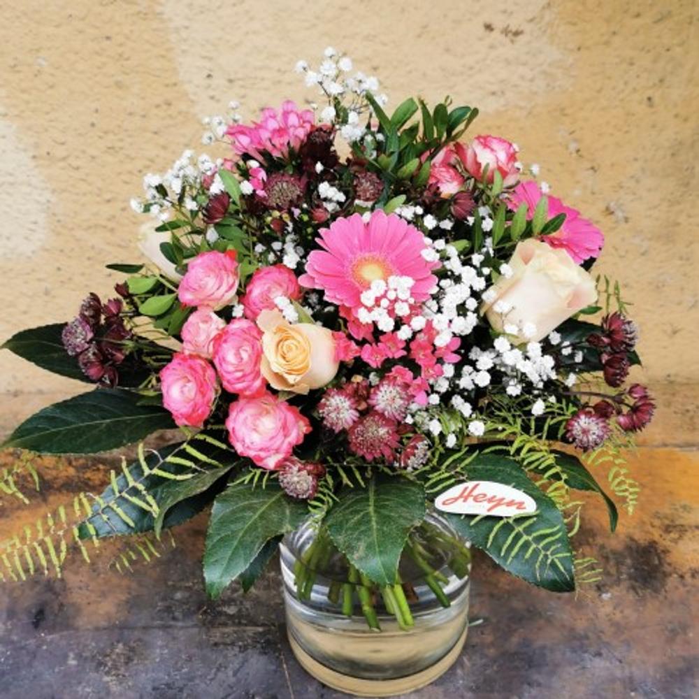 Blumenstrauß Rosa - zoom
