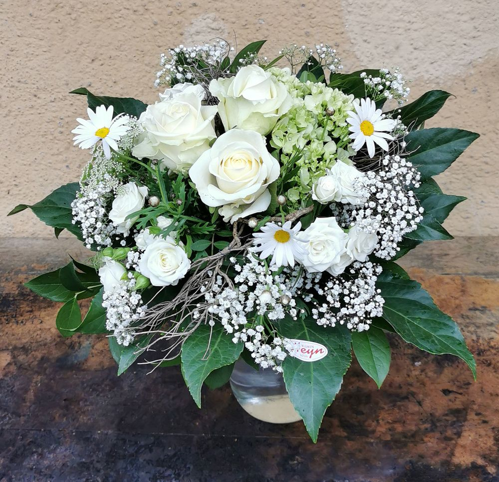 Blumenstrauß Weiß - zoom